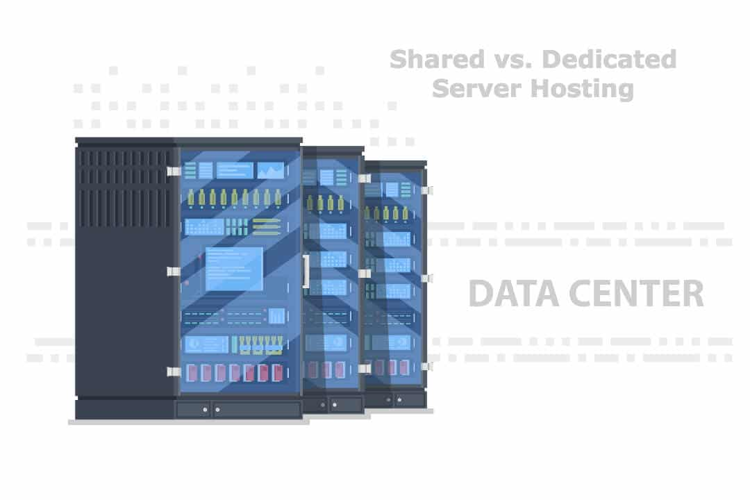 Superficially, the noticeable difference between shared and dedicated server is the cost. But there are underlying major differentiating factors such as disk space, bandwidth, security, uptime, etc. Dedicated server hosting is suitable for a large business