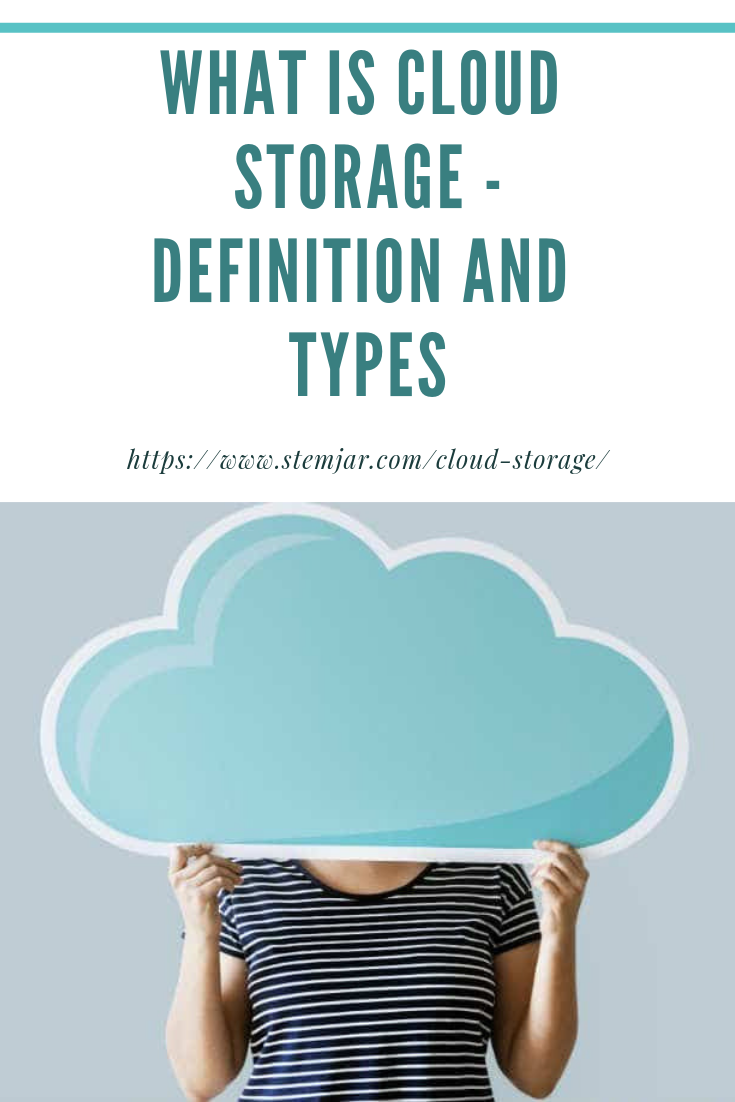 A cloud service model that stores all the users' data on remote servers is a Cloud Storage. It can be maintained, modified, managed and made remotely accessible to the user by the cloud service provider over any network, mainly the internet.
