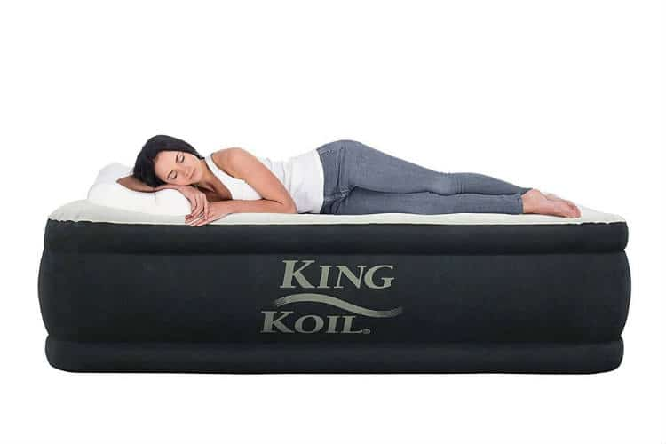 King Koil Airbed would be a perfect choice if you are camping lover or just need extra bed occasionally to accommodate your guests.