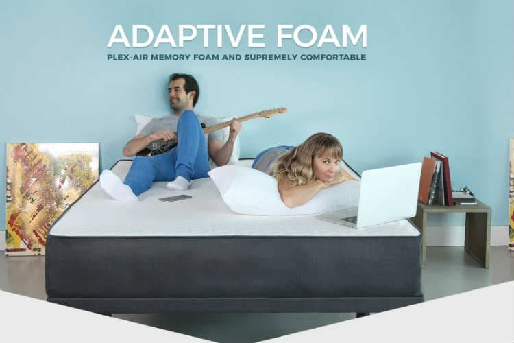 The Quatro Sleep mattress makes for a plush and luxurious feeling while offering great comfort and relaxation. With its premium tri-layer memory foam and medium firmness, it suits most people.